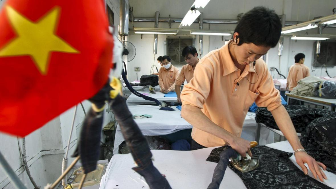 Vietnamská továrna