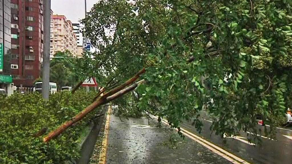Následky tajfunu Saola
