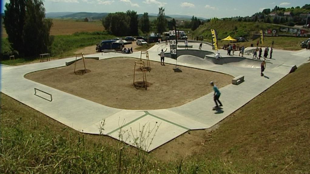 Klatovský skatepark