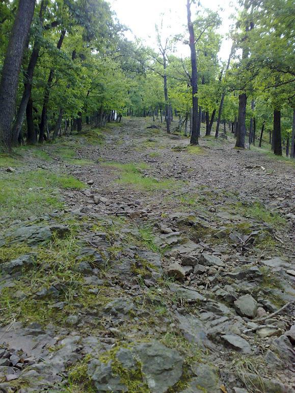 Křížová cesta po kamenech