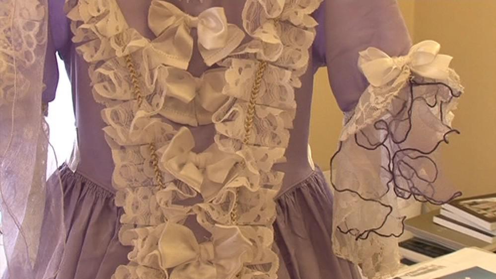 Dobové kostýmy z Milotic vyráběla kastelánova žena