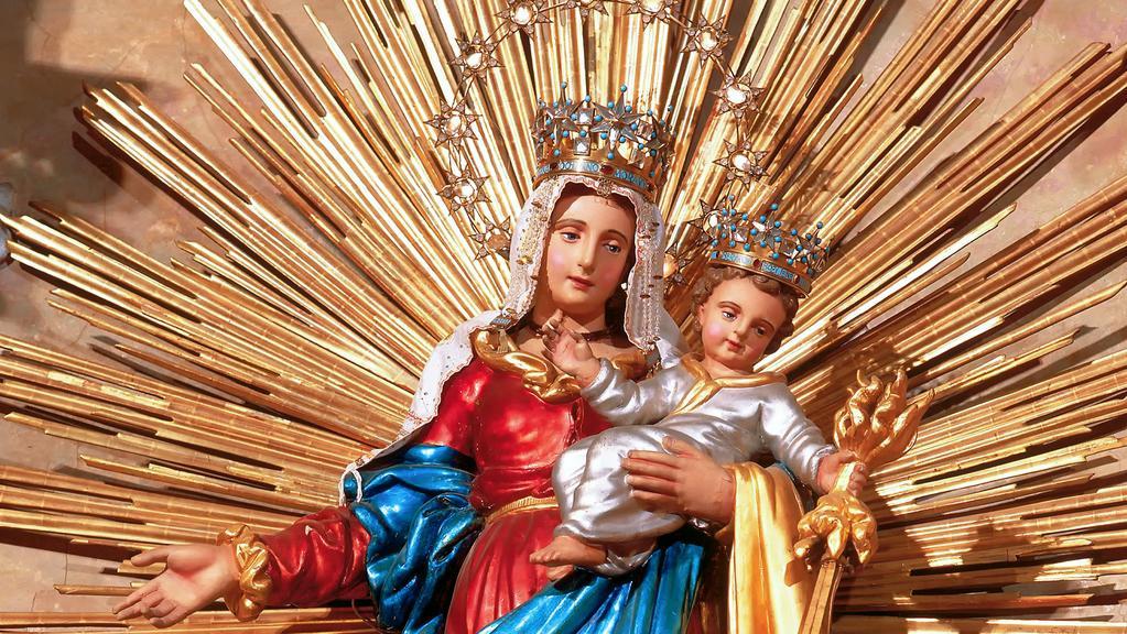 Hostýnská madona s Ježíškem