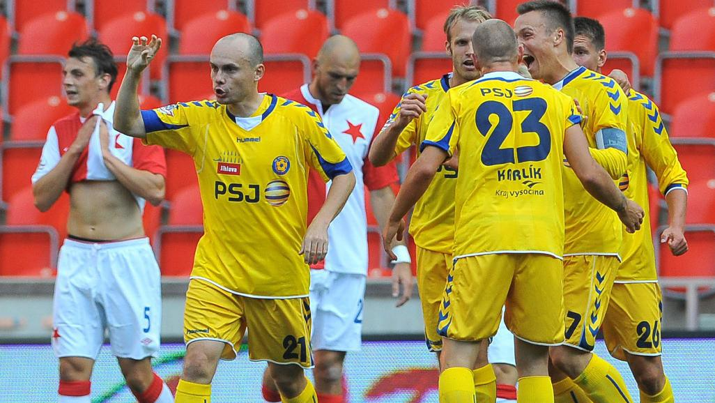 Radost jihlavských fotbalistů