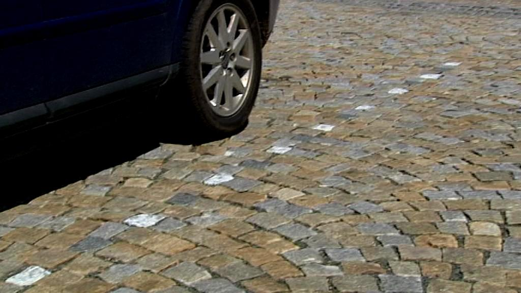 Vyznačení parkovacích míst v Novém Městě nad Metují