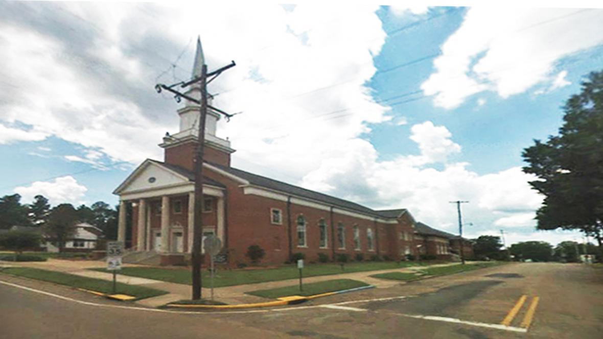 Baptistický kostel v Crystal Springs