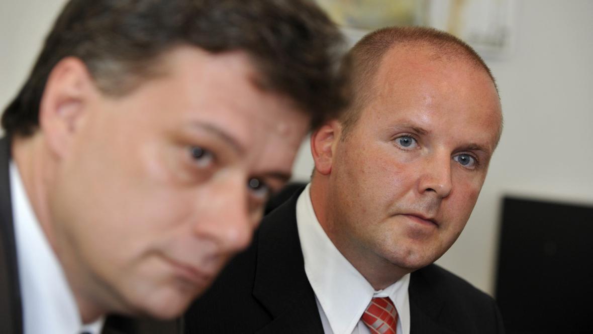 Pavel Blažek a Jan Sladký