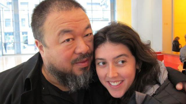 Aj Wej-wej s režisérkou dokumentu Never Sorry Alison Klaymanovou