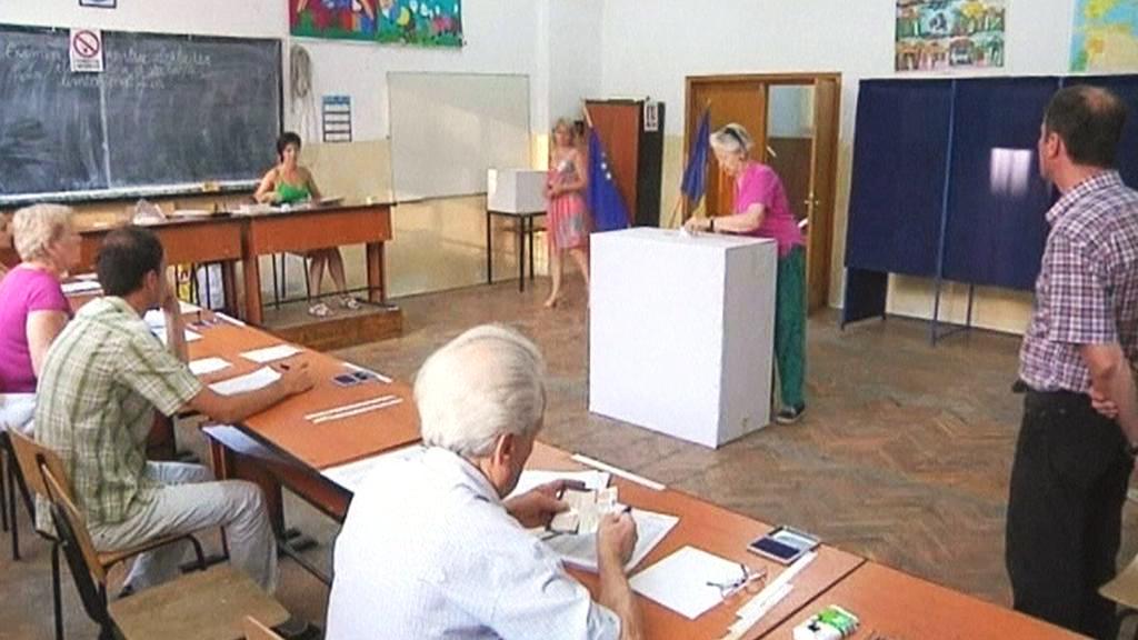 Rumunské referendum o prezidentu Basescovi