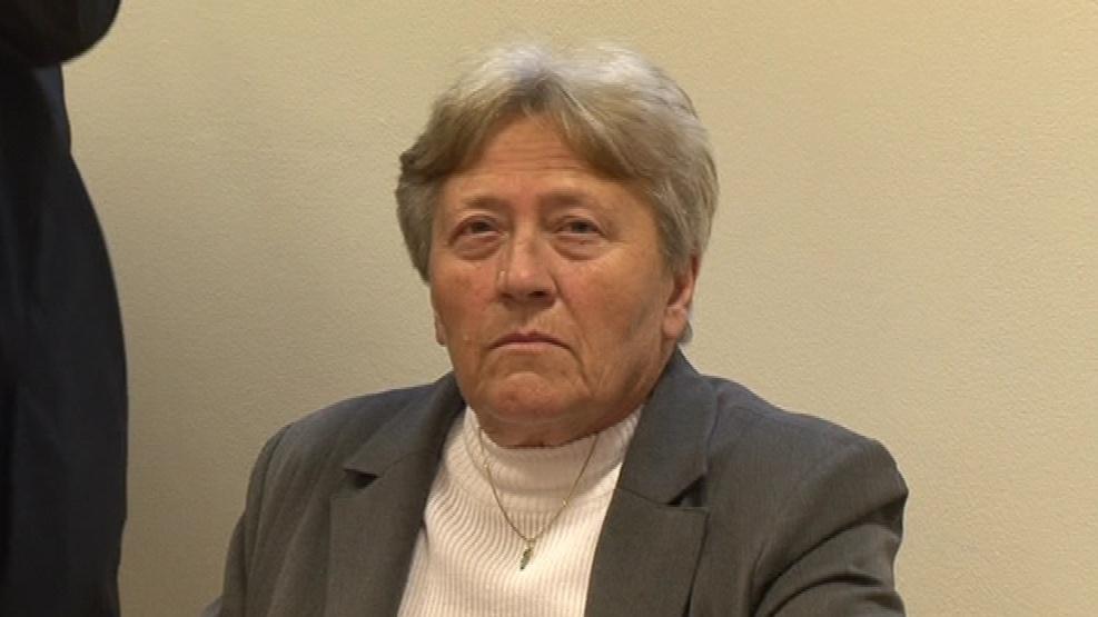 Dagmar Hrubá před soudem