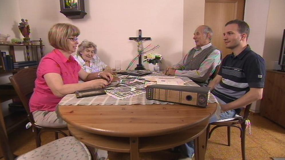 Rodina na Josefa Navrkala ráda vzpomíná