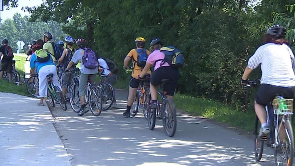 Provoz na cyklostezkách