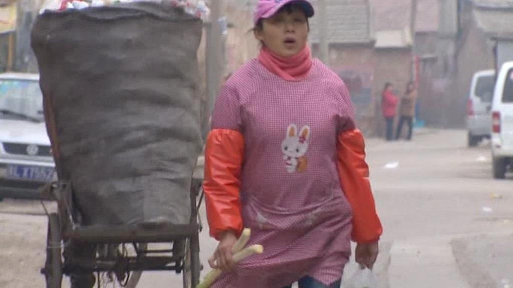 Chudoba v Číně
