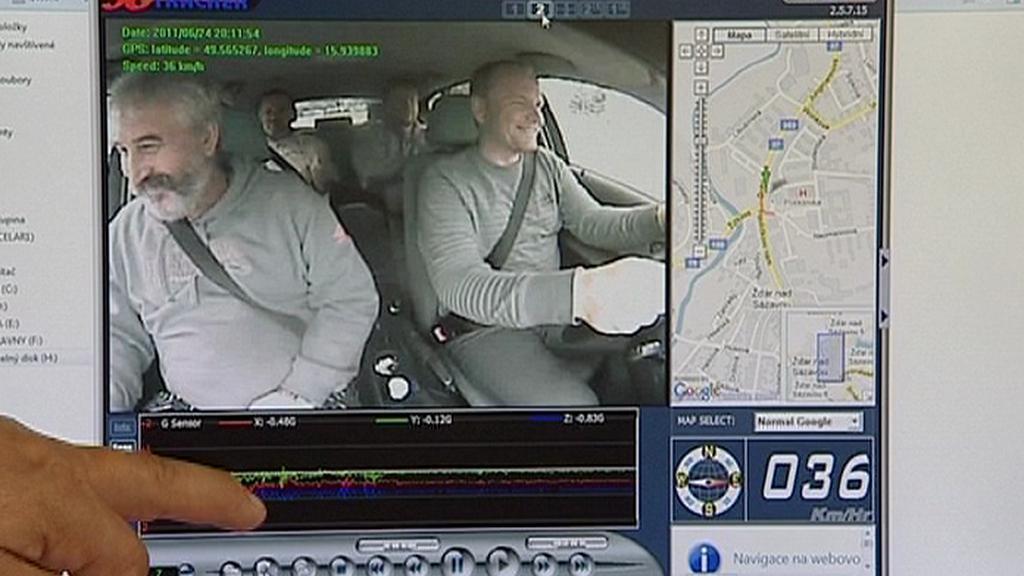 Kamery v autoškole