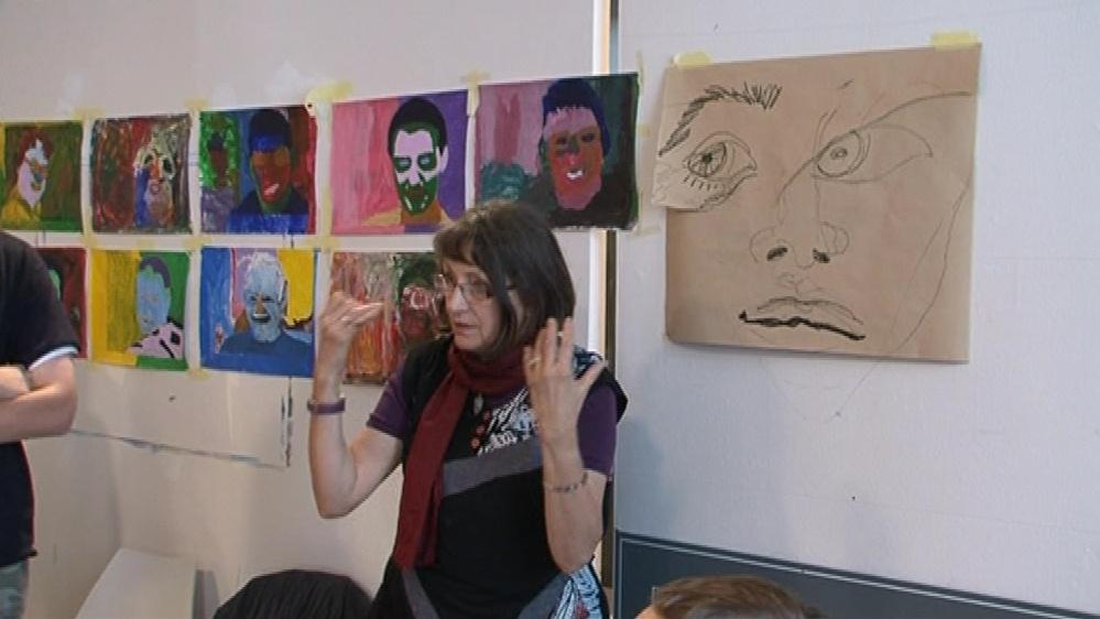 Workshop vede švýcarská výtvarnice Diana Rachmuth