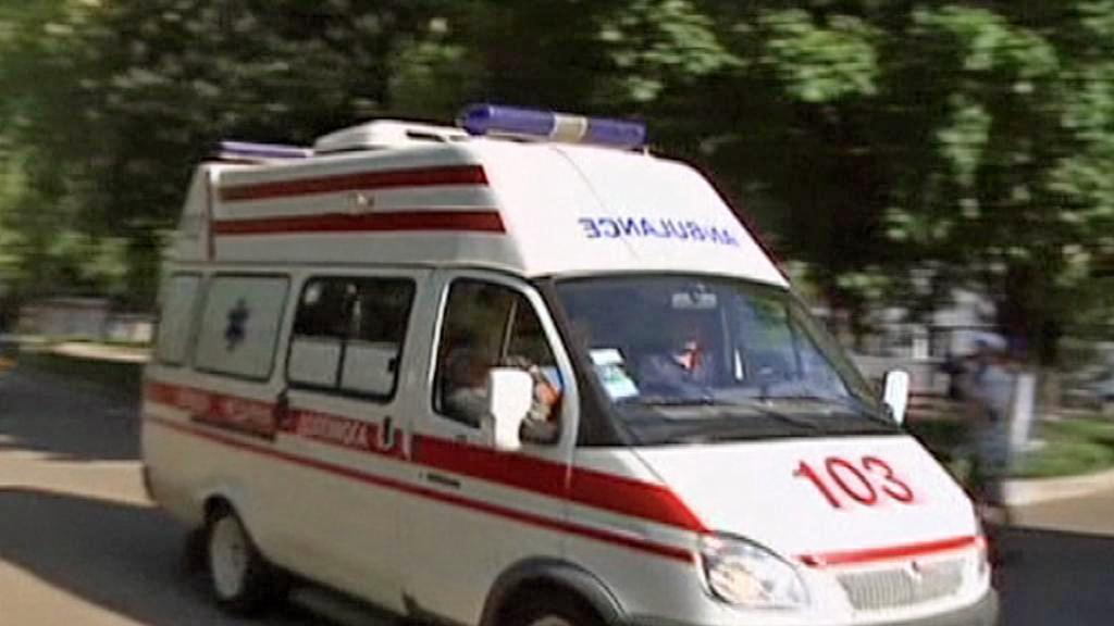 Sanitka veze Juliji Tymošenkovou do charkovské nemocnice