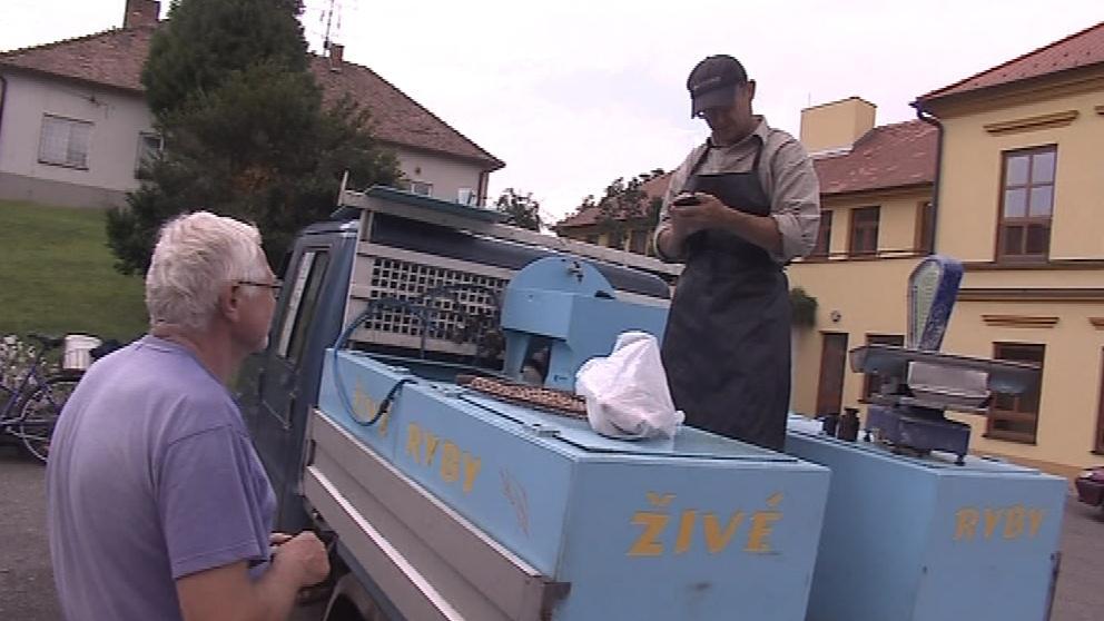Peter Dujsík rozváží ryby už 17 let