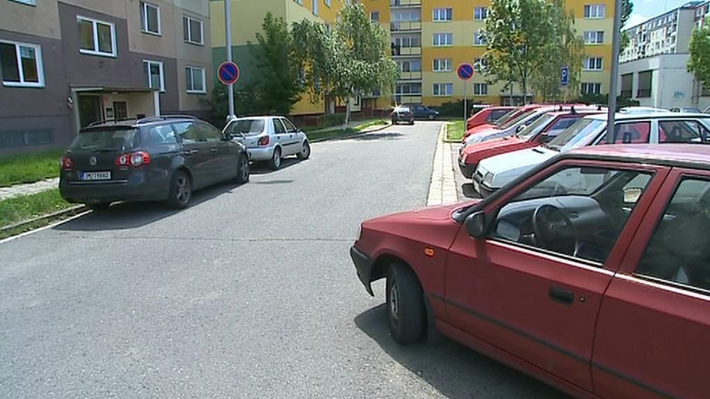 Parkování na sídlišti