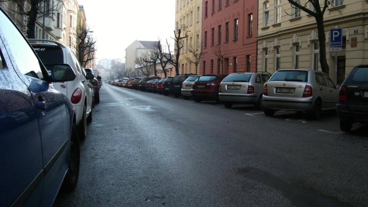 Parkování v Brně