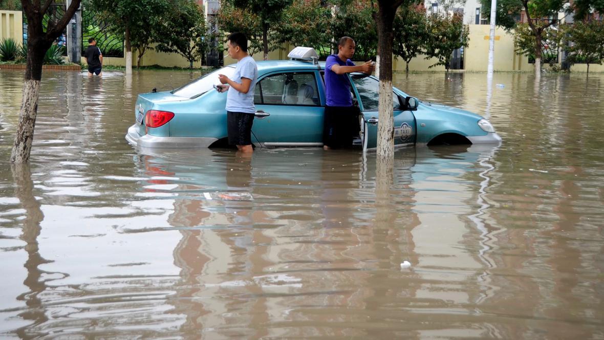 Záplavy v Tchien-ťin
