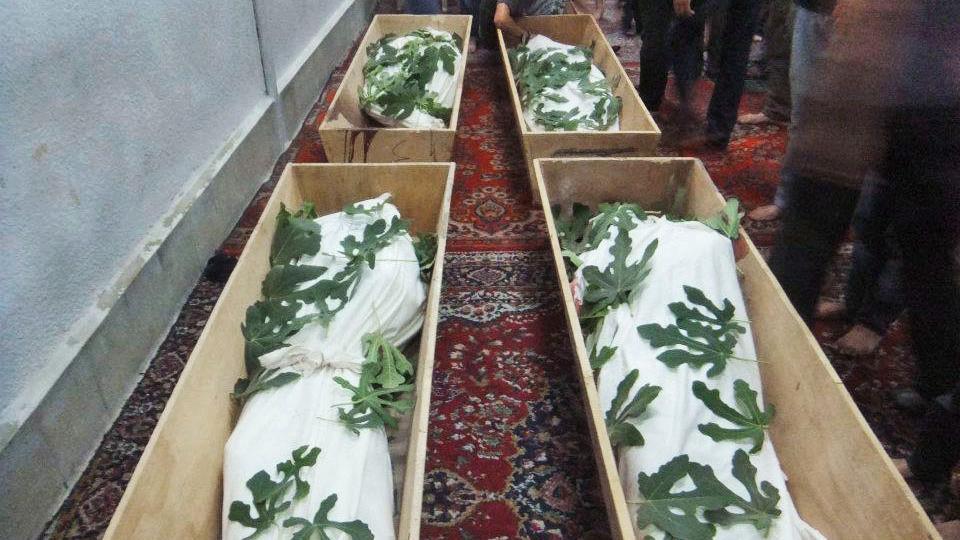 Oběti bojů v Sýrii