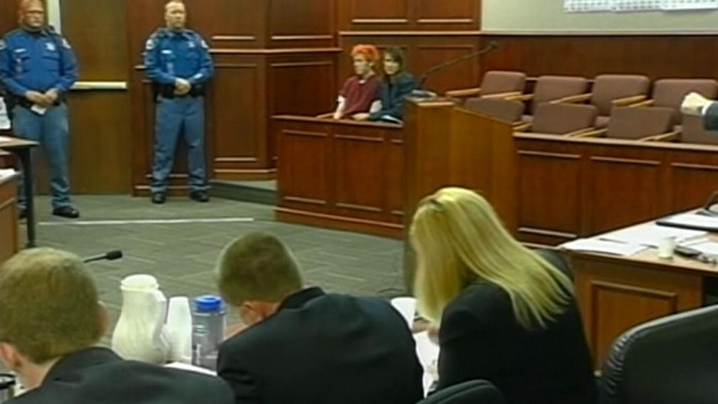 James Holmes u soudu