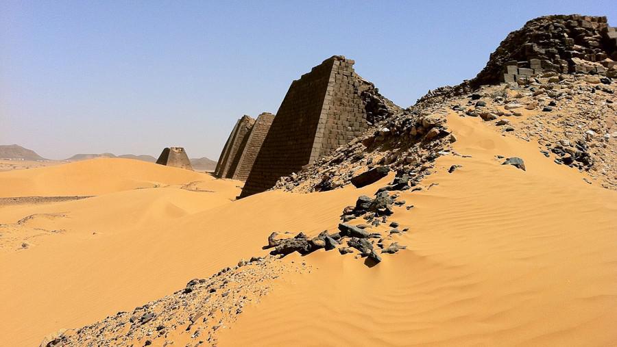 Súdánské pyramidy