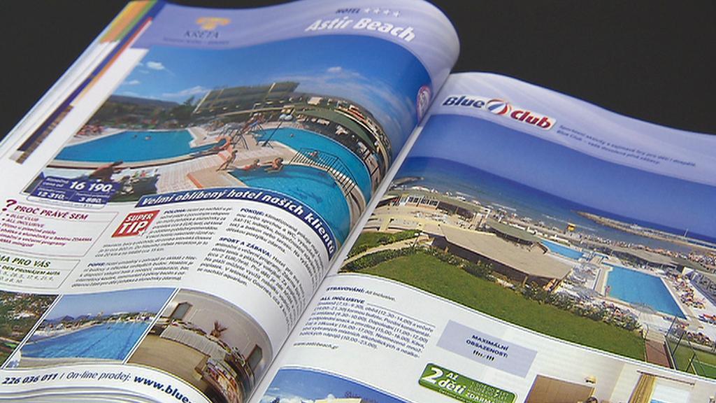 Nabídka z cestovních katalogů
