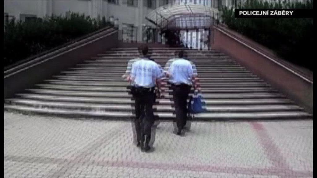 Foto z policejního záběru