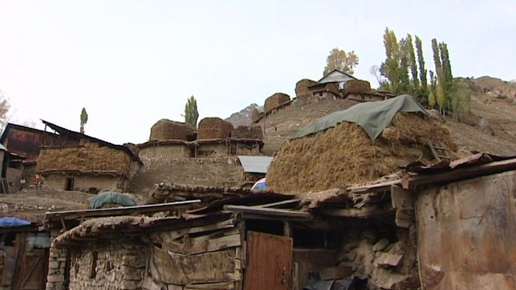 Tádžická vesnice