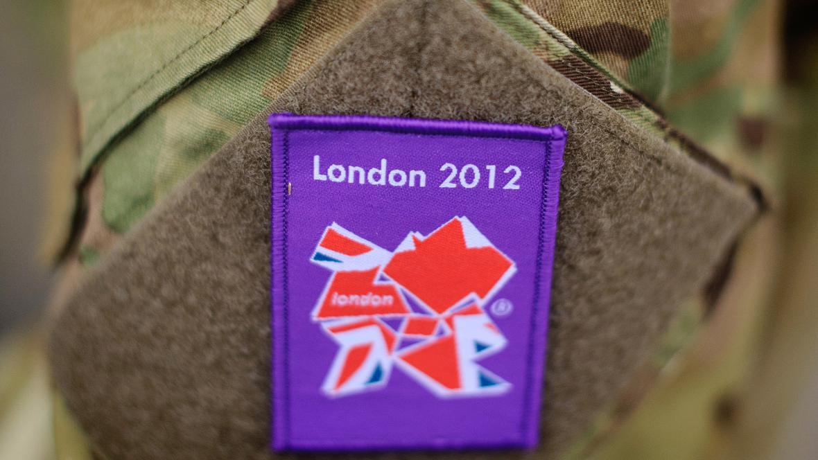 Vojáci pomáhají na olympiádě