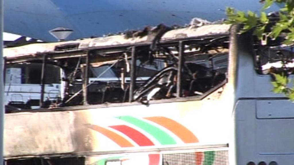 V Burgasu vybuchl autobus