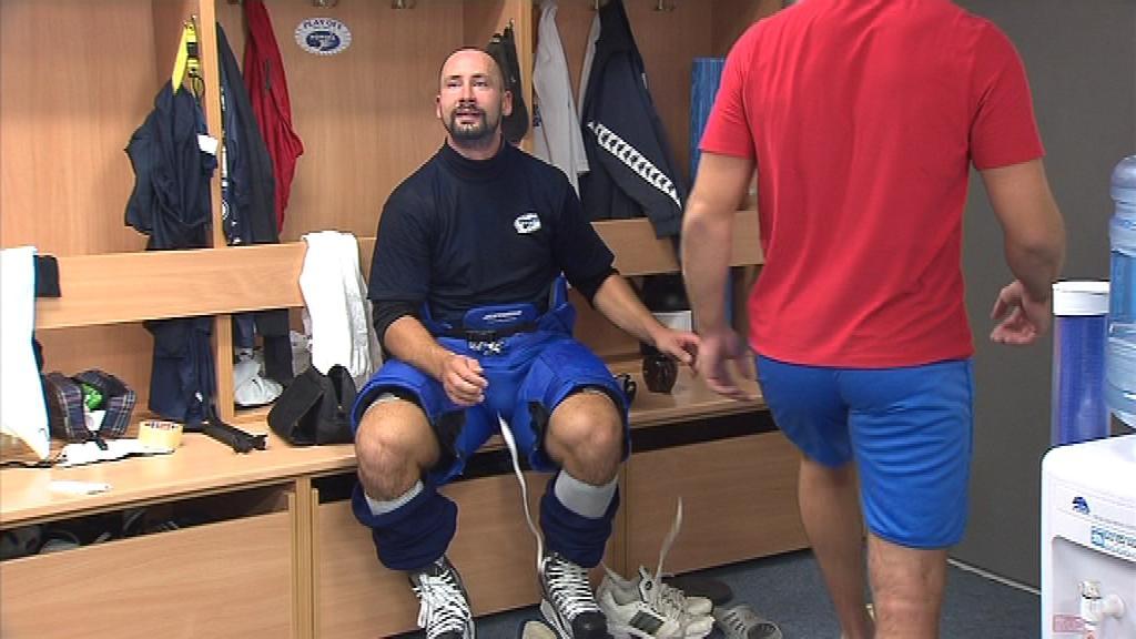 Tomáš Divíšek se na shledání s ostatními hráči těšil
