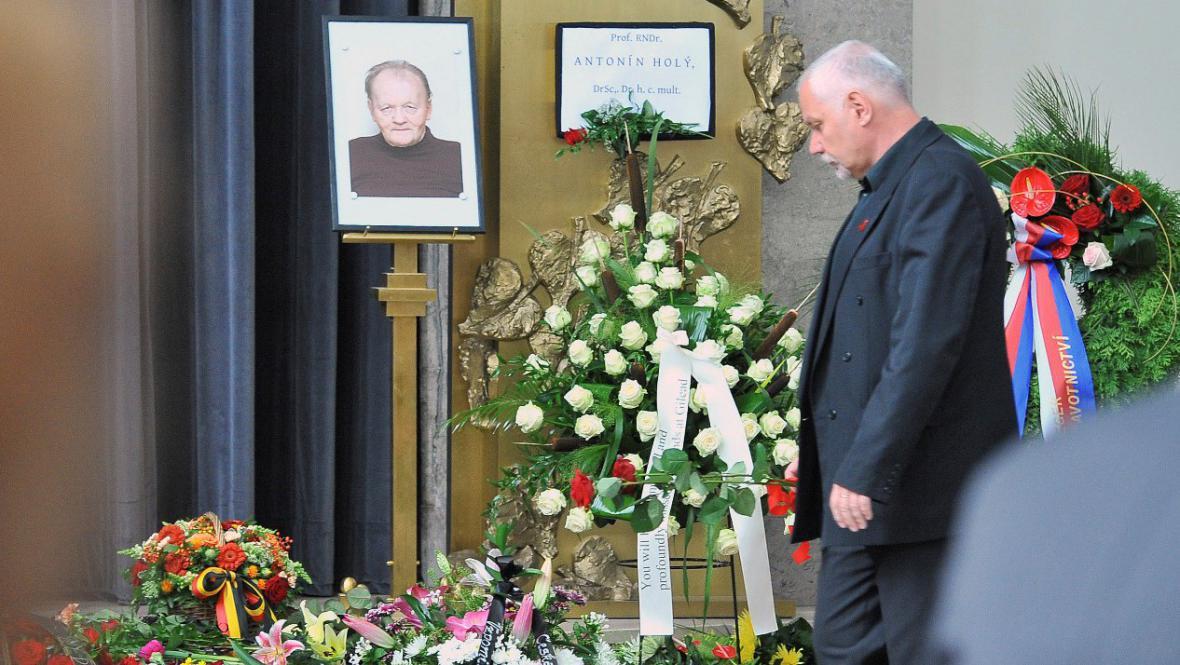 Pohřeb Antonína Holého