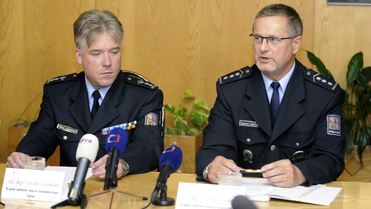 Tomáš Landsfeld a Vladimír Danyluk