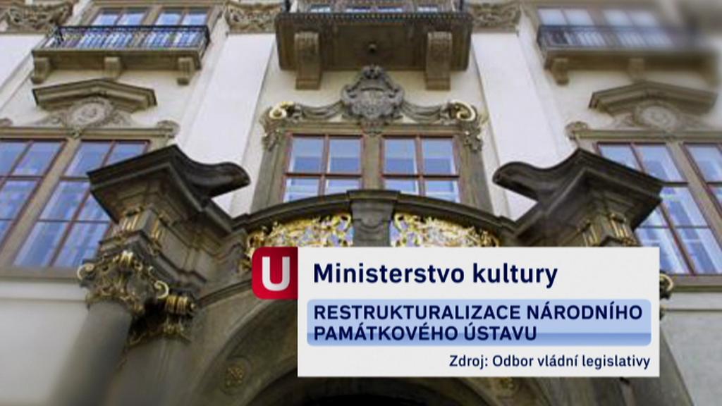 Úspory ministerstva kultury