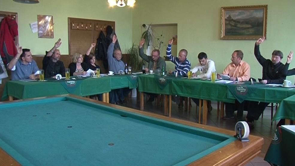 Jednání zastupitelstva v Moravských Bránicích