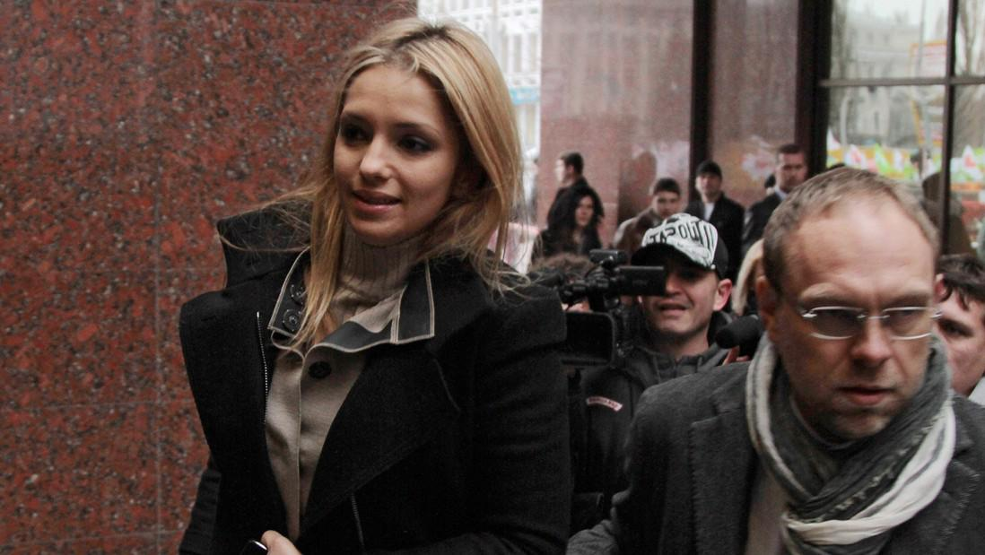 Dcera Tymošenkové Jevgenija a advokát Serhij Vlasenko