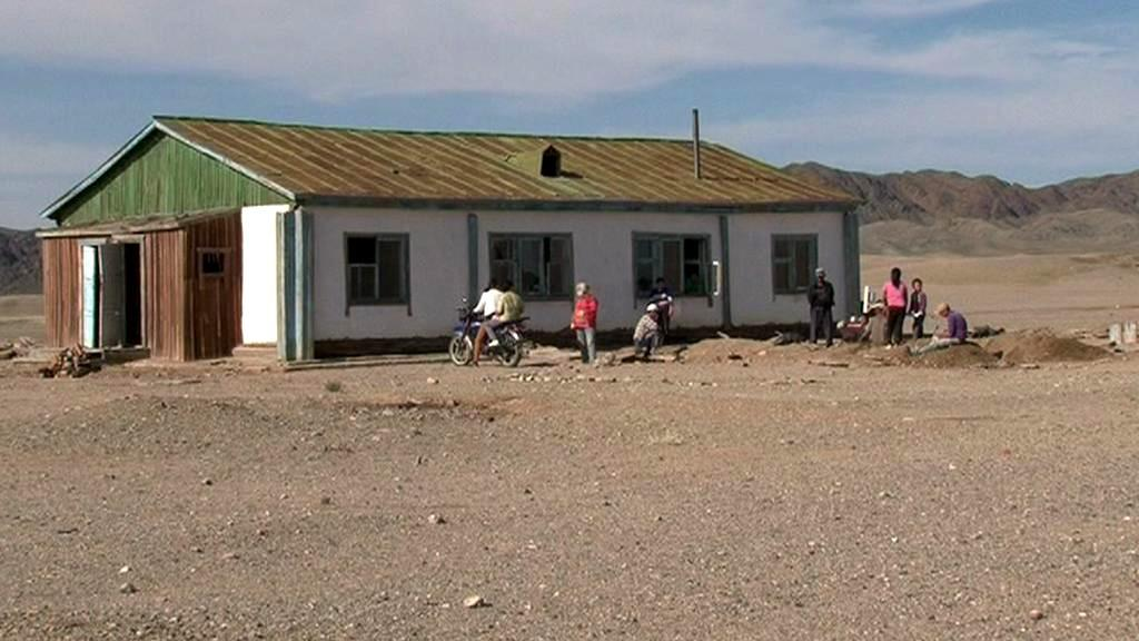 Nemocnice v Mongolsku