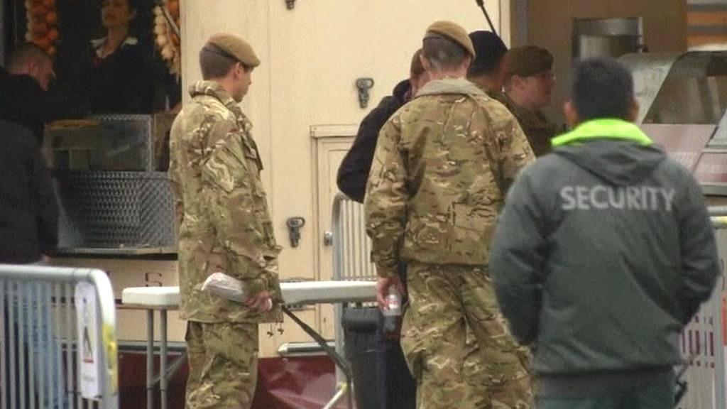 Vojáci na olympiádě v Londýně