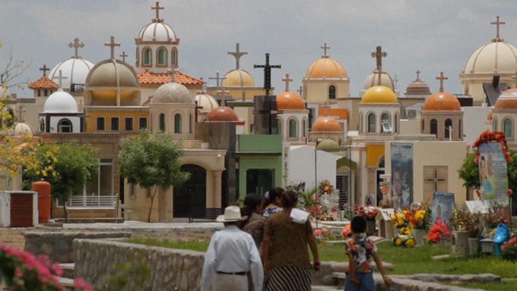 Hřbitov v mexickém Sinaloa