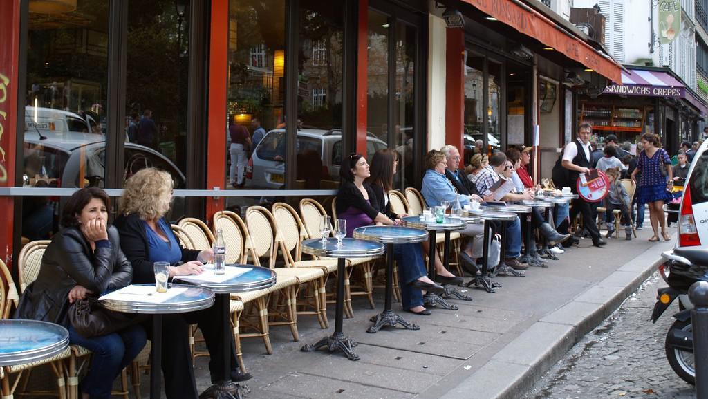 Paříž - před Sacre Coeur