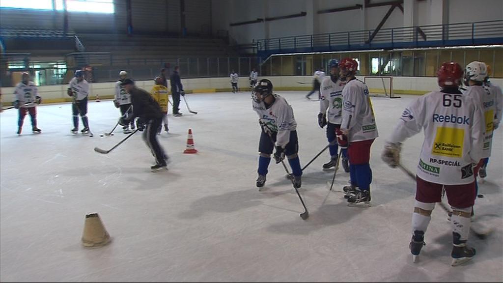 V Blansku na letním hokejovém kempu trénují desítky hráčů