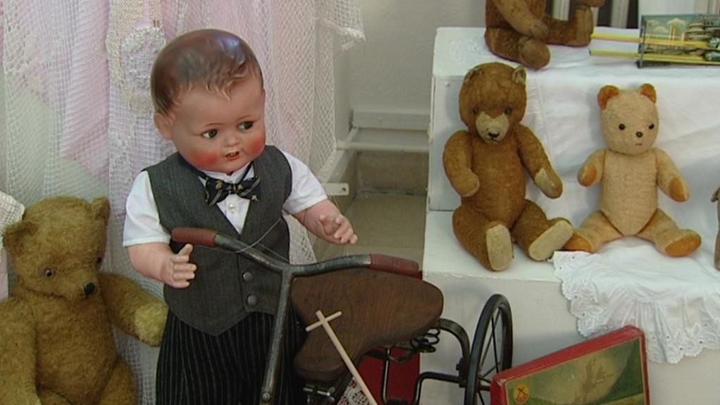 Výstava historických hraček