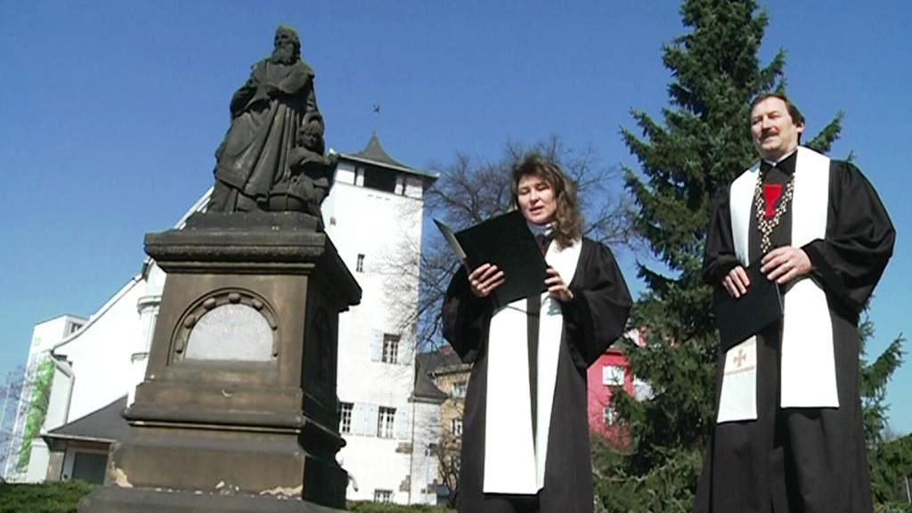 Přerovské oslavy výročí J. A. Komenského
