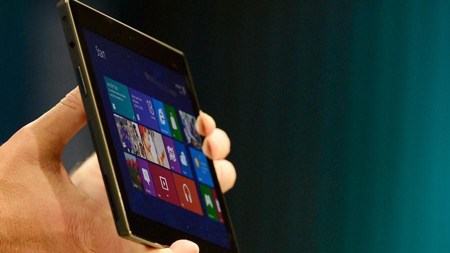 Představení nového tabletu společnosti Microsoft