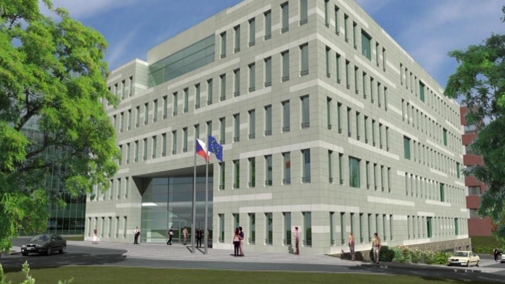 Vizualizace Úřadu práce Brno-město