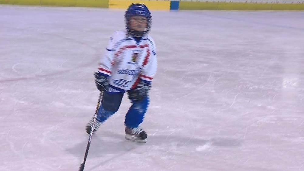 Kluziště využívají v létě především malí hokejisté