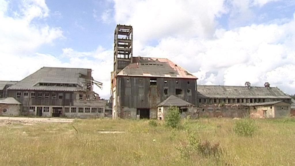Opuštěný důl na Cínovci