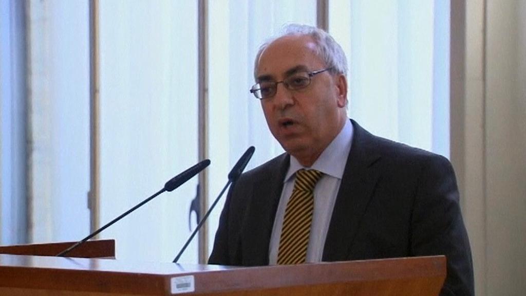 Abdulbásit Sejda, šéf Syrské národní rady