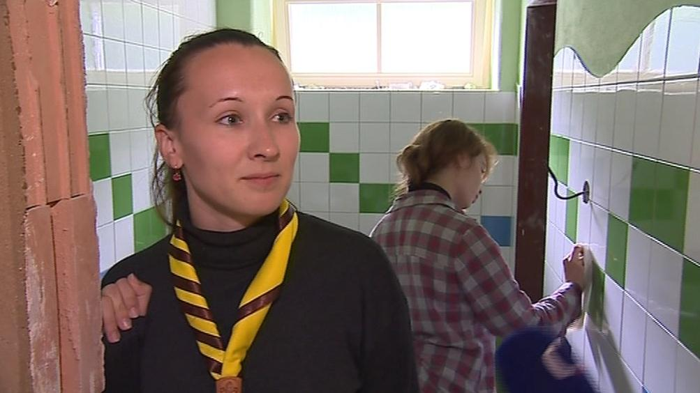 Na brigádu přijela i Elena Sermakševová z Minsku
